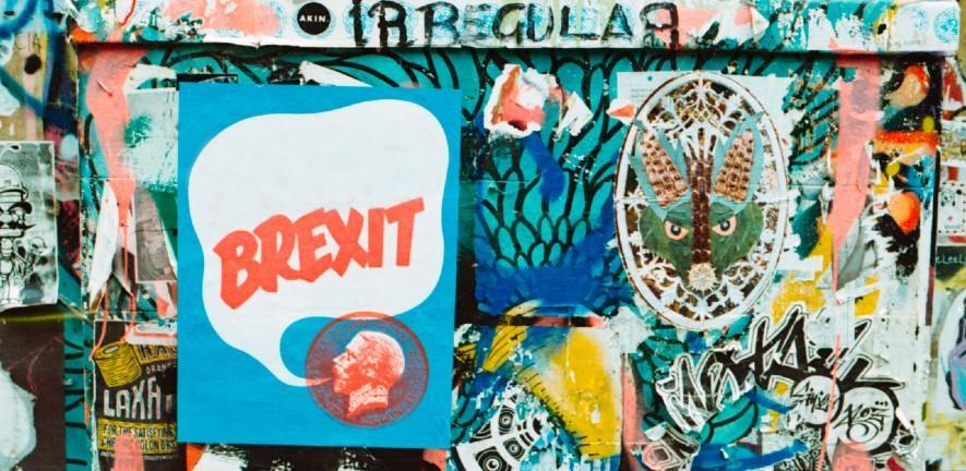 brexit graffitti