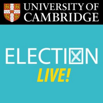 Election LIVE! at the Cambridge Festival of Ideas